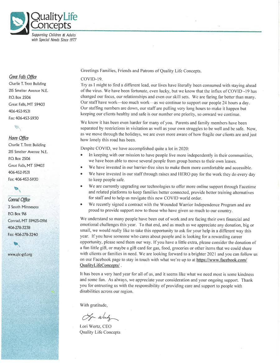 Annual Letter 2020