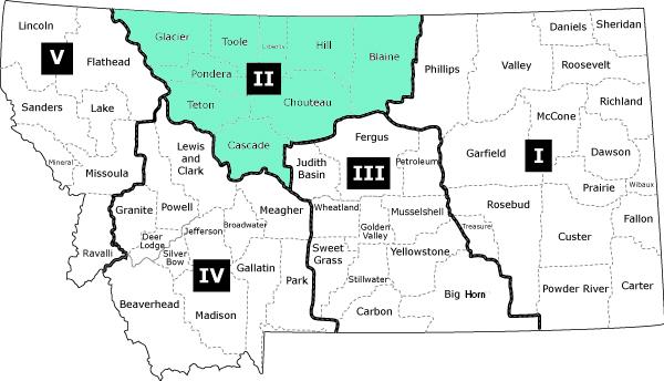 Service Area Locations